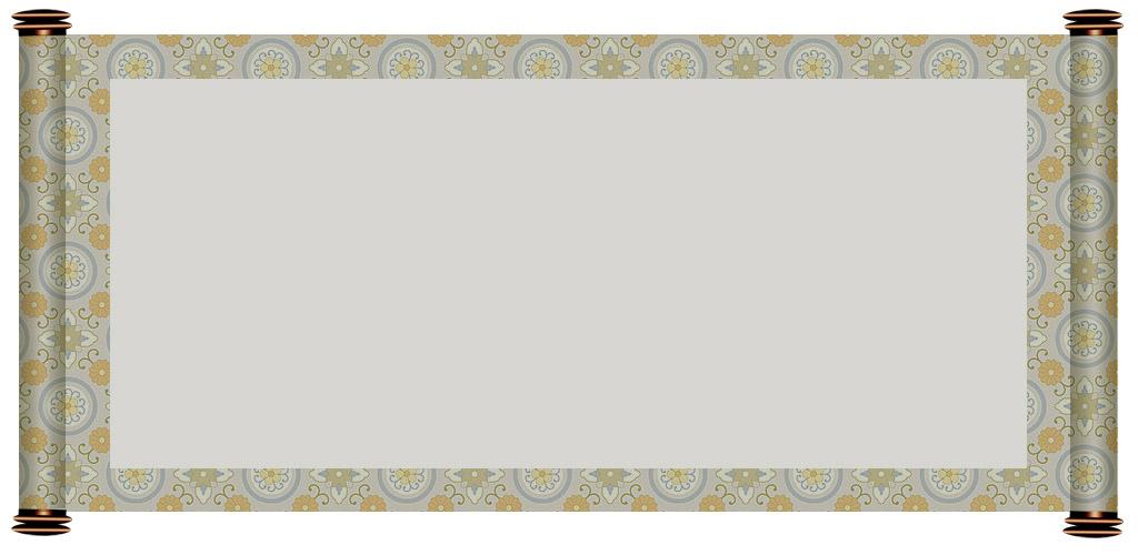 漂亮的古轴模板(3) - 开心 - .