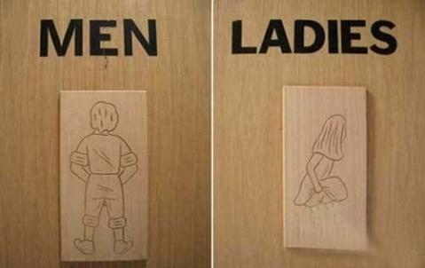 爆笑的厕所标识 - 610015 - 我的小屋