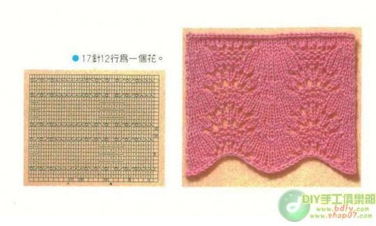 棒针织出来的花边 - 芙蓉 - 芙蓉的博客
