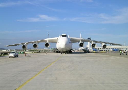 世界上最大的运输机安225