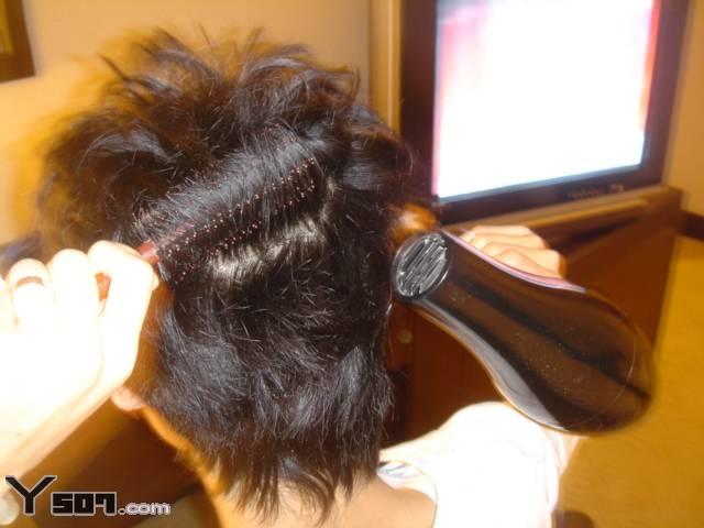 ★★★男生街头发型造型步骤(1): 吹风----图文并茂 - 巨蟹男 - 巨蟹男的博客