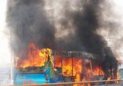 重庆公交车燃烧 27人死亡
