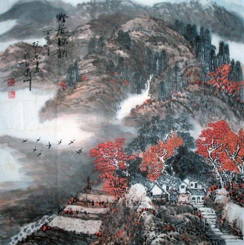(原创)野居秋韵 - 陇山渭水 - 陇山渭水