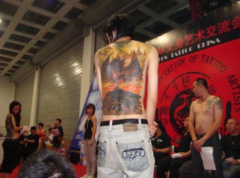 的国际纹身大赛