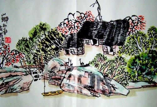乡村记忆系列(二十八)2008/04/25  - 书画家罗伟 - 书画家罗伟的博客