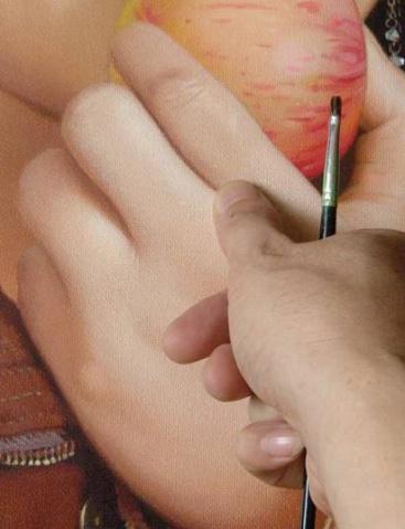 丙烯写实技法 - h.m_123 - 画家贺明