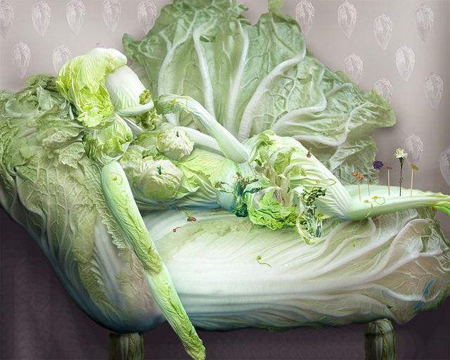 """大白菜变身妩媚""""妙龄女郎"""",巧夺天工!(组图) - 刻薄嘴 - 刻薄嘴的网易博客:看世界"""