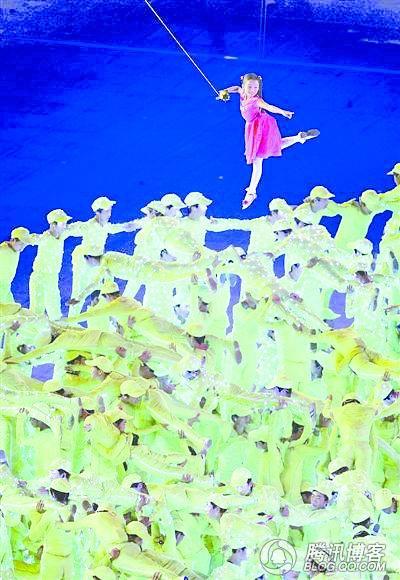 奥运开幕式一夜成名的四个女孩 - lx3com - lx3com太上老君的博客
