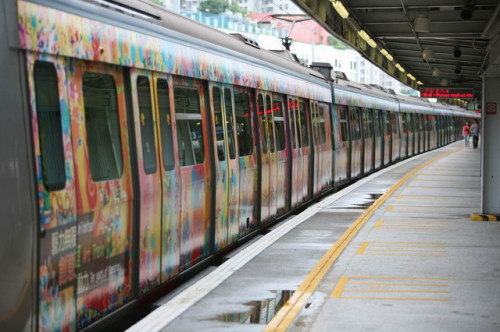 庆香港回归十周年九铁创意列车 - gothictang - gothictang的博客