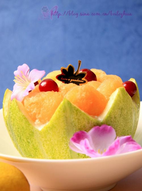 饭后的谈资甜品——哈密瓜慕斯 - 521777lizihao - 风流才子