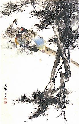 【引用】湖社会员王雪涛 - 玄子 - 郑玄书画